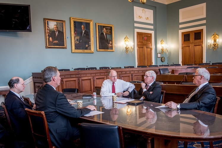 Barry Melancon meets with CPAs in Congress