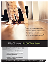 tax ad child dancing