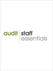 audit staff essentials experienced staff and new in-charge cpe self study