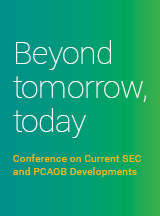 Current SEC and PCAOB Developments conference