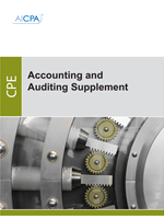 accounting and auditing supplement second quarter 2018