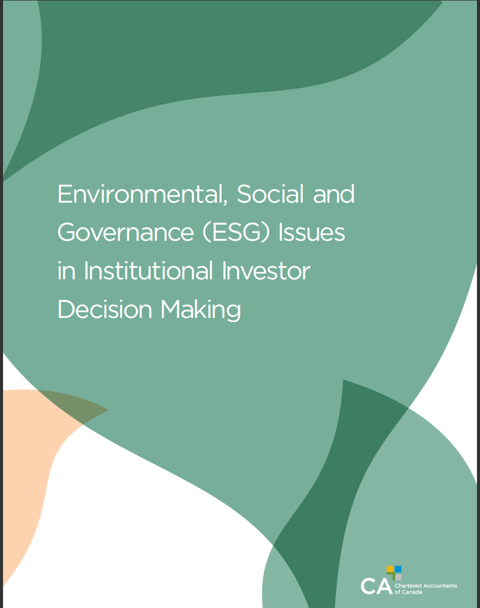 ESG Issue Cover