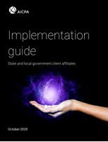 Implementation Guide: State and local government client affiliates