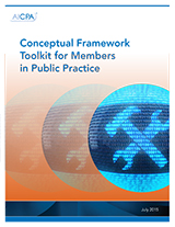 Conceptual Framework Toolkit for Members in Public Practice (10 MB Word Doc)
