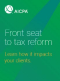 Exclusive Tax Reform Webcasts