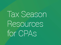 Tax Season Resources for CPAs
