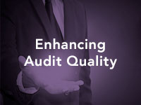 Enhancing Audit Quality Graphic